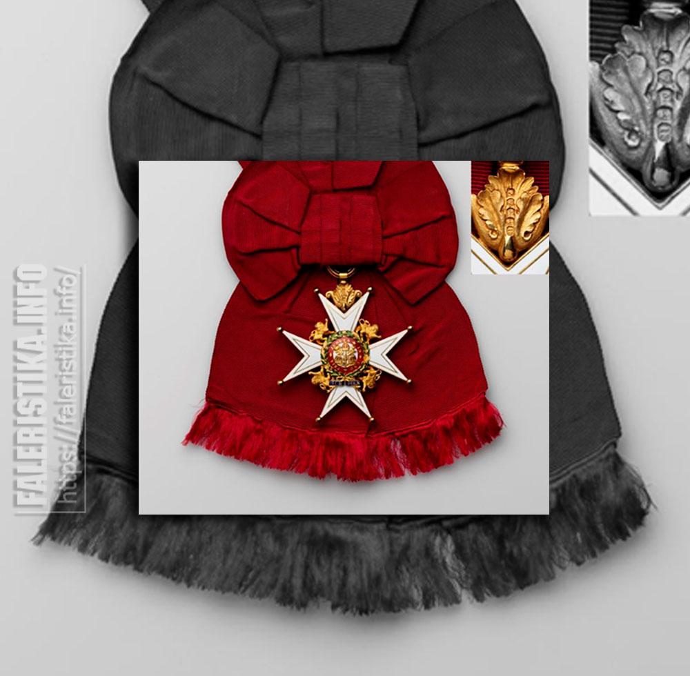 Орден Бани. Военный дивизион. Знак Рыцаря Большого Креста. Аверс. Чресплечная лента. Частная коллекция