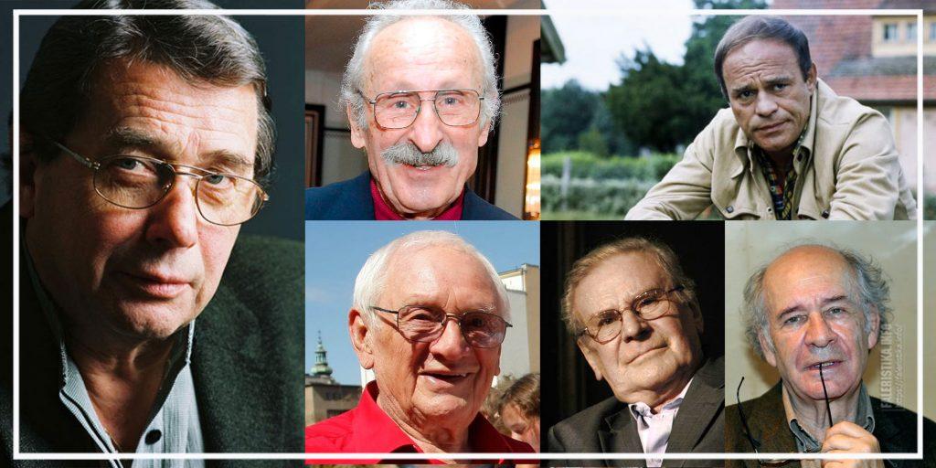 Janusz Gajos (Jan Kos), Franciszek Pieczka (Gustaw Jeleń), Roman Wilhelmi (porucznik Olgierd Jarosz) 1936-1991, Witold Pyrkosz (Franciszek Wichura), Wiesław Gołas (Tomasz Czereśniak), Włodzimierz Press (Grigorij Saakaszwili)