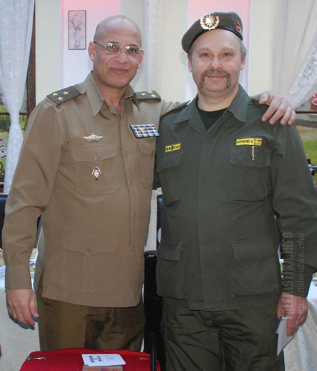 Гильермо Вердесия де Педро и Виталий Корпенко (Председатель Содружества ветеранов ГСВСК)