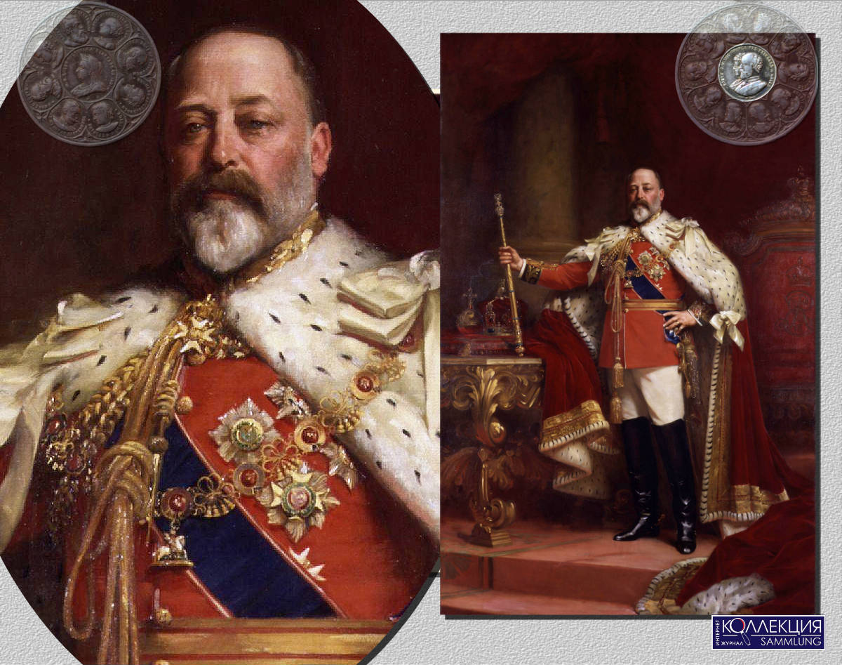 Люк Филдес (1843-1927).Король Эдуард VII.1902. Холст, масло.275.6 х 180.3. Национальная портретная галерея, Лондон.NPG 1691