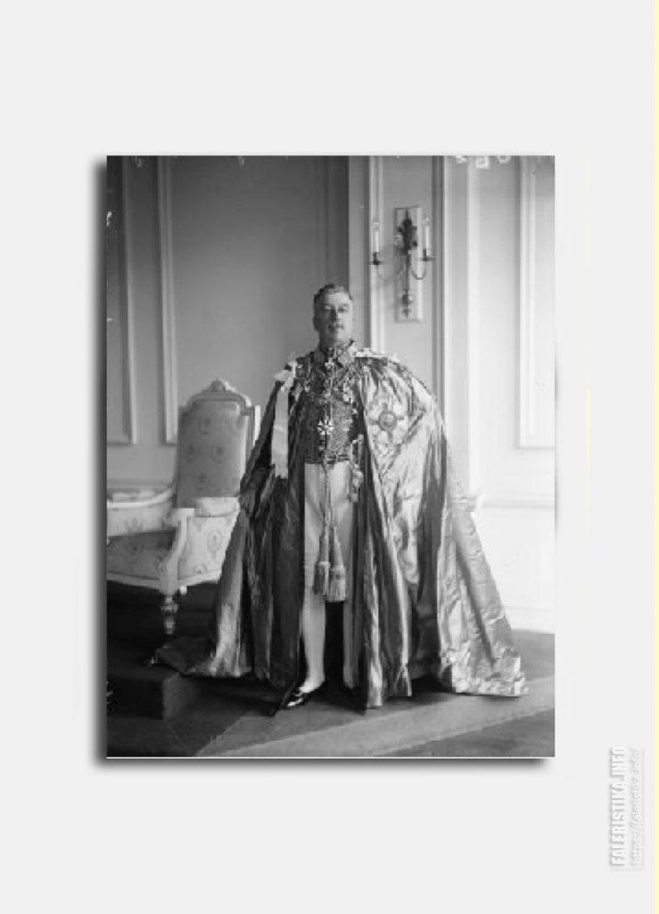 Артур Уильям Фольямбе. Орден Св. Михаила и Св. Георгия. Церемониальные одежды. Цепь. Цепной знак.одежды. Цепь. Цепной знак