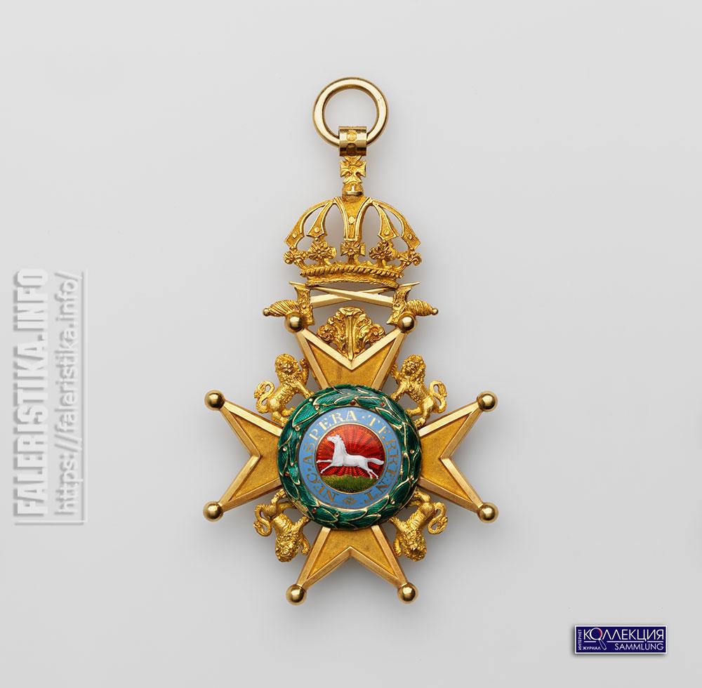 Королевский Орден Гвельфов. Знак рыцаря Большого креста. Аверс. Лондон, 1833-1834