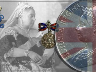 Queen Victoria Sterling Silver medal