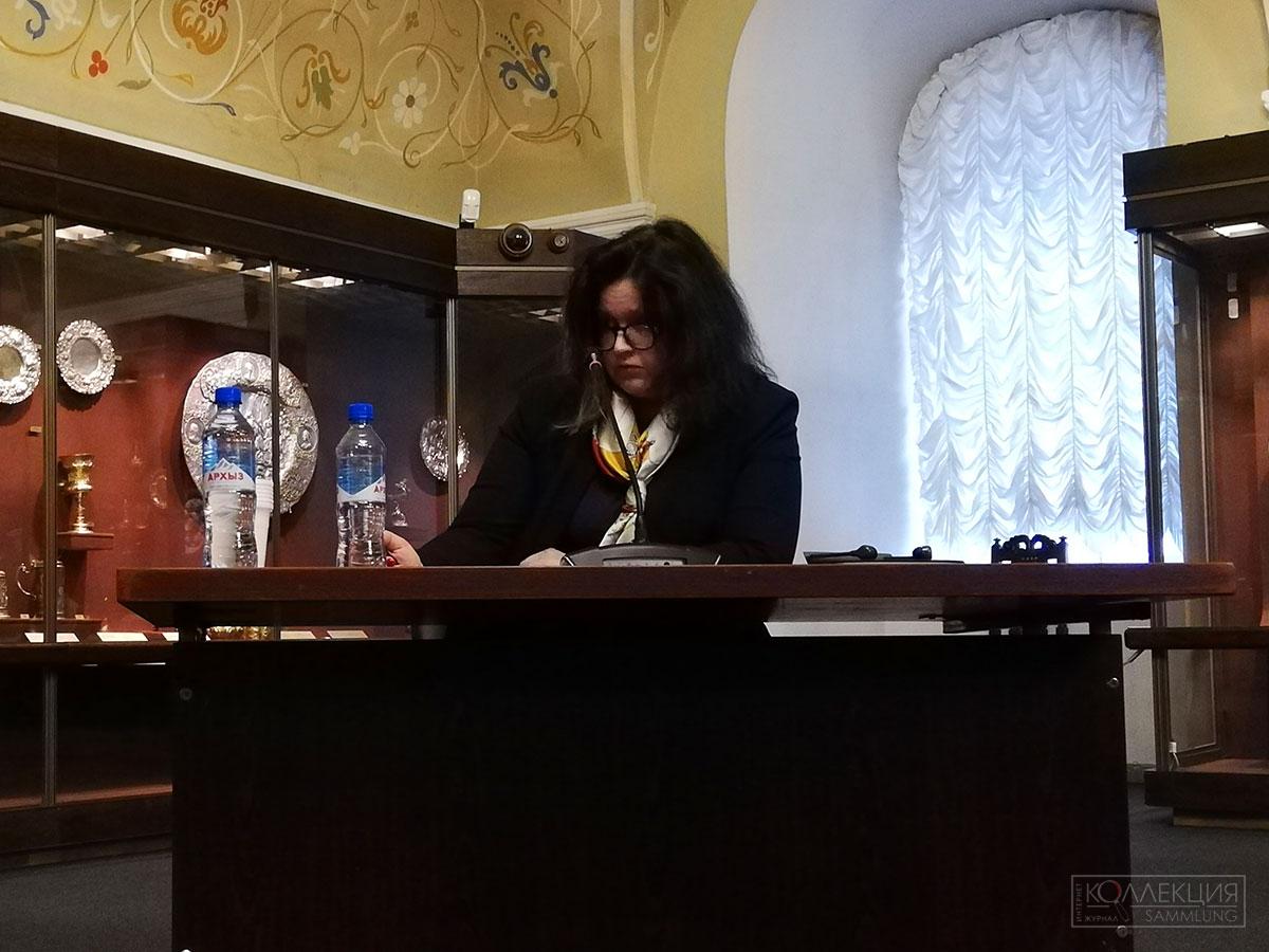 Екатерина Лапиньш. Таллинский музей рыцарских орденов