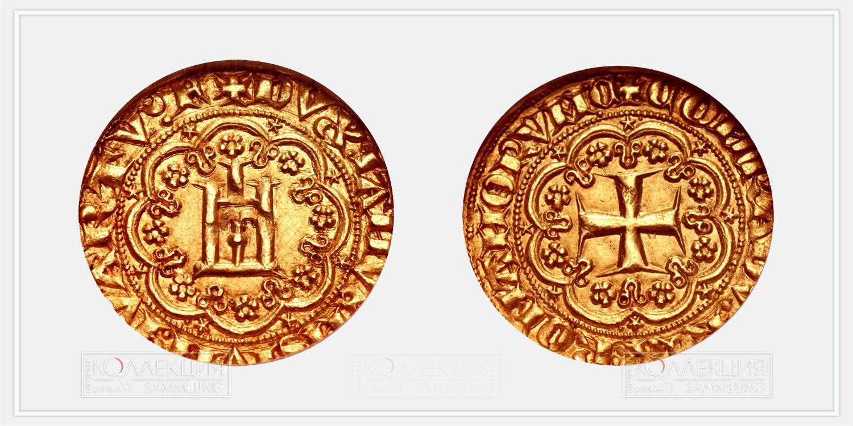 Дженовино, Генуя. 1356-1563 гг. (Взято с ресурса https://numisbids.com)