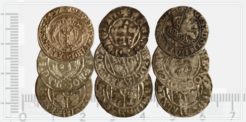 Биллоновые монеты Речи Посполитой, ходившие в XVIII веке