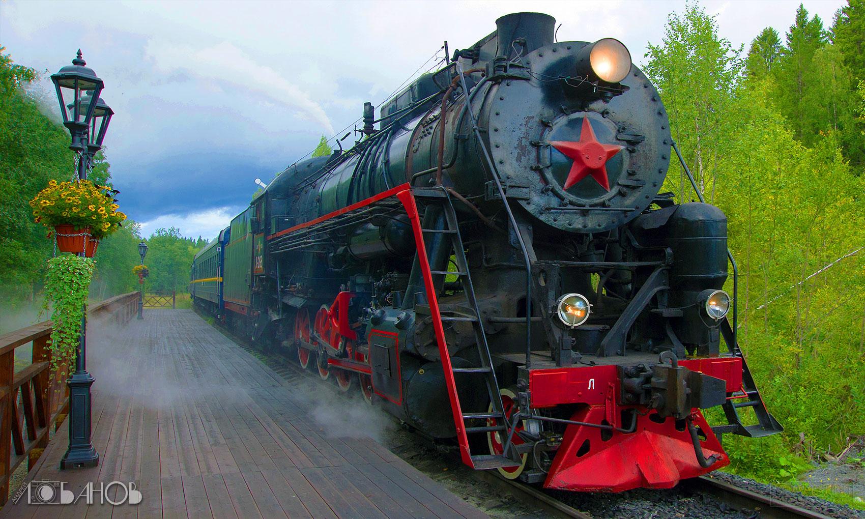 Паровоз Л-2198
