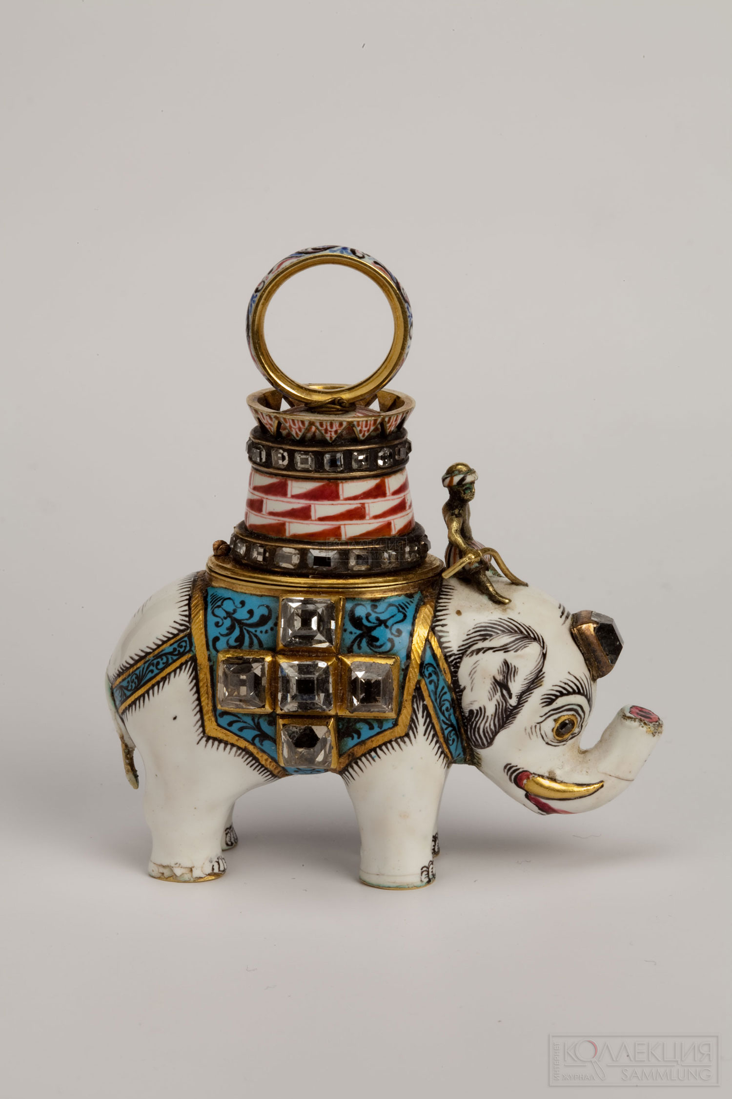 The Order of the Elephant Знак Ордена Слога «Фредерика VI», начало 1860-х гг.