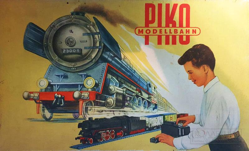 PIKO Modellbahn (крышка коробки)